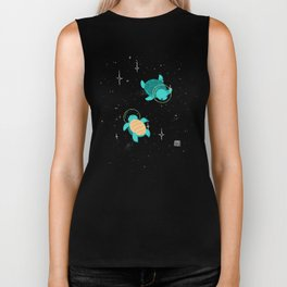 Space Turtles Biker Tank