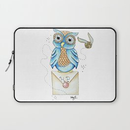 Harry Potter - Hedwig Owl and Golden Snitch Laptop Sleeve