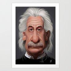 Celebrity Sunday ~ Albert Einstein Art Print