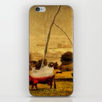 cows iPhone & iPod Skins featuring Cows by Gil Finkelstein