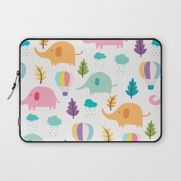 Cute Elephant Laptop Sleeve