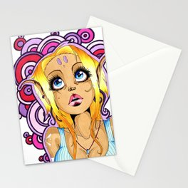 Hippy Elf Stationery Cards