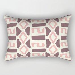 Pink Fall Tribal #society6 #tribal Rectangular Pillow