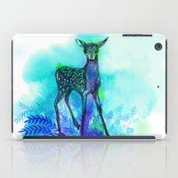 bambi iPad Cases featuring bambi by anneamanda