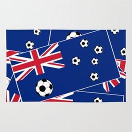 Australian Flag Football Rug