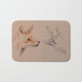 my wolf Bath Mat