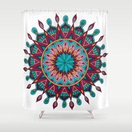 Heart and Soul Mandala Shower Curtain