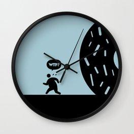 WTF? Donna! Wall Clock