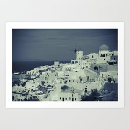 Santorini, Greece 2 Art Print