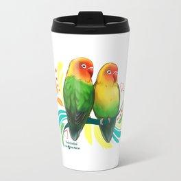 Fischer Lovebirds Travel Mug
