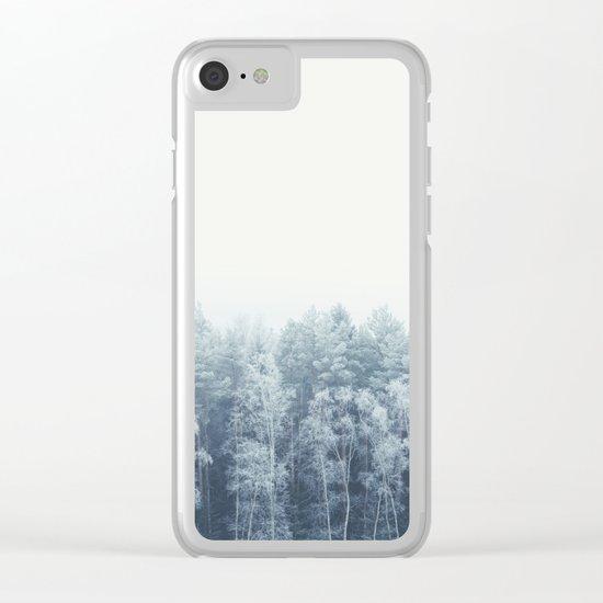Frosty feelings Clear iPhone Case