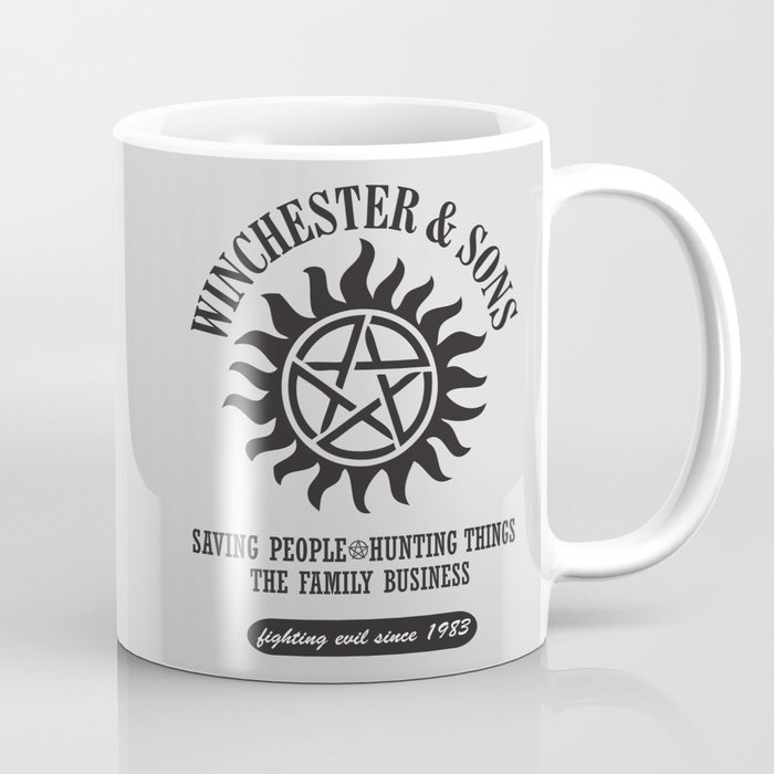 SUPERNATURAL WINCHESTER AND SONS Coffee Mug