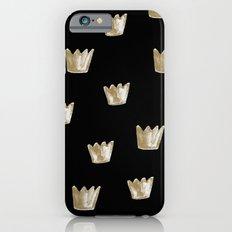 Crown Pattern iPhone 6 Slim Case