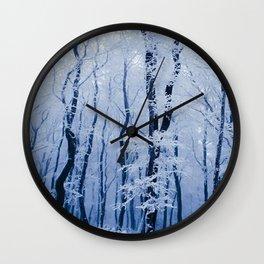 WINTER SCENE-3118/3 Wall Clock