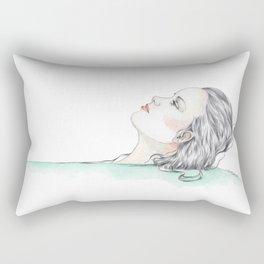 Bathtime Rectangular Pillow