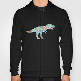 T Rex Dinosaur Doodle Hoody