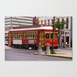 New Orleans Trolley 2004 Canvas Print