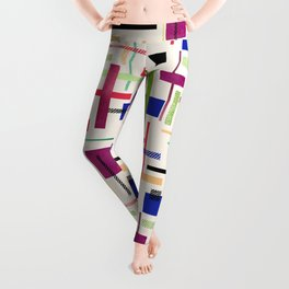 Colorful abstract. Leggings