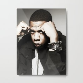 Jay-Z 01 Metal Print