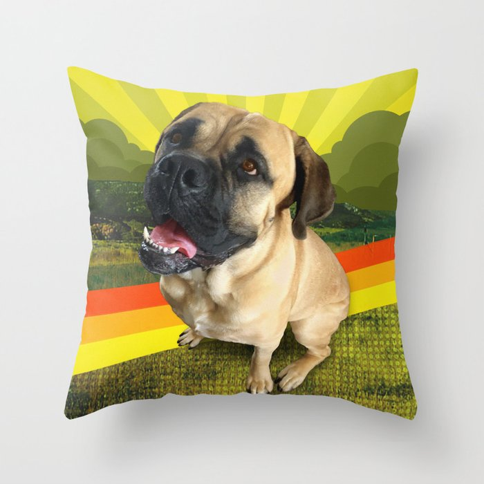 HANDSOME land Throw Pillow