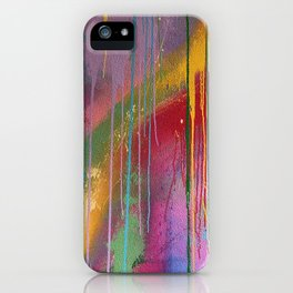 Abstract Art Urban Street Graffiti iPhone Case