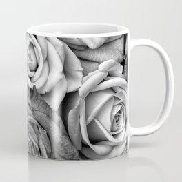 The Roses (Black and White) Coffee Mug