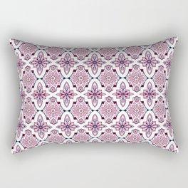 Lilac Moroccan Tiles Rectangular Pillow