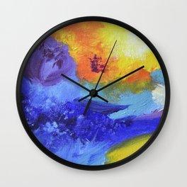LOLLIPOP FLOWERS Wall Clock