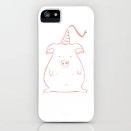 piggy 12 iPhone Case