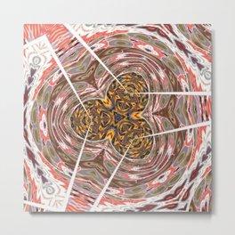 Some Other Mandala 620 Pattern Metal Print