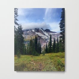 Mount Rainier, Washington Metal Print