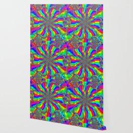 Rainbow on Acid Wallpaper