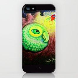 Peep Bird iPhone Case