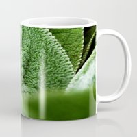 silence of the lambs Mugs featuring Lambs Ear by Christian Gholson
