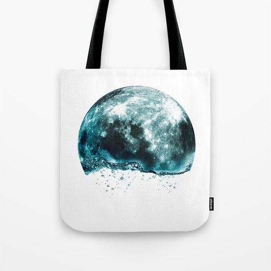 lunar water Tote Bag