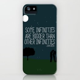 Some Infinities  iPhone Case