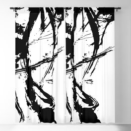 Brushstrokes No.16A by Kathy Morton Stanion Blackout Curtain