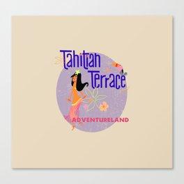 Tahitian Terrace Canvas Print