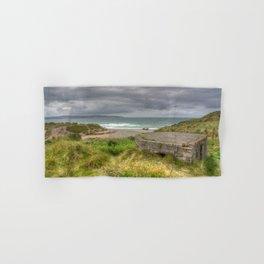 Gwithian Pill Box Seascape Hand & Bath Towel