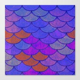 Multicolor Scales Canvas Print