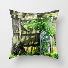 Nature Taking Over 2 Throw Pillow