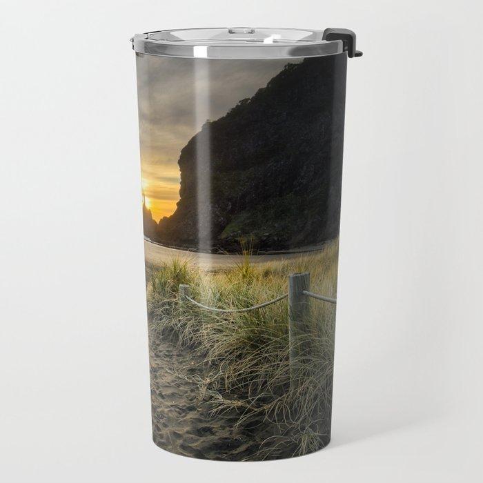 Piha Sunset 2 Travel Mug
