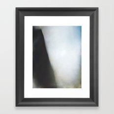 Crumple - Abstract art Framed Art Print