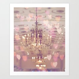 Mayflower Chandelier Art Print