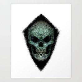 Skull Dark Art Print