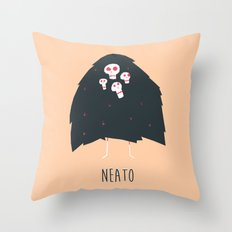 Neato Throw Pillow