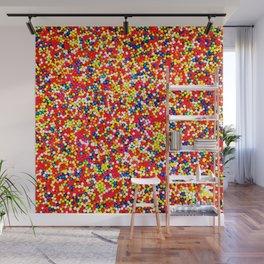 Sugar Candy Rainbow Balls Wall Mural