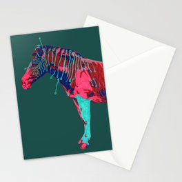 Electric Quagga Stationery Cards