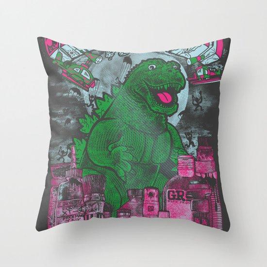 Graff Dream Throw Pillow