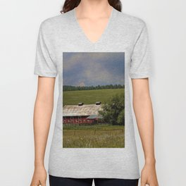 Summer Days Unisex V-Neck